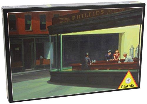 Piatnik Edward Hopper Nighthawks - 1000 Piece Puzzle