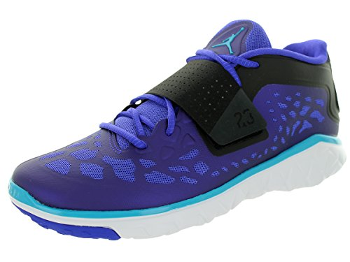 Nike Jordan Men's Jordan Flight Flex Trainer 2 Brght Concord/Bl Lgn/Blk/White Training Shoe 9 (Air Flex Trainer Ii compare prices)