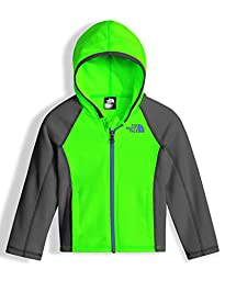 The North Face Toddler Glacier Full Zip Hoodie Power Green 3T