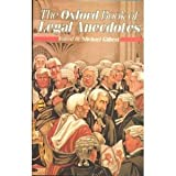 The Oxford Book of Legal Anecdotes, , 0192141120