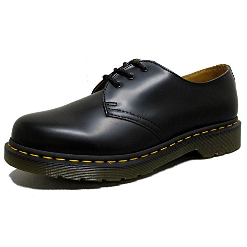 Flirty Wardrobe COD/coutures jaunes Dr Martens Chaussures à 1461 3-7 UK