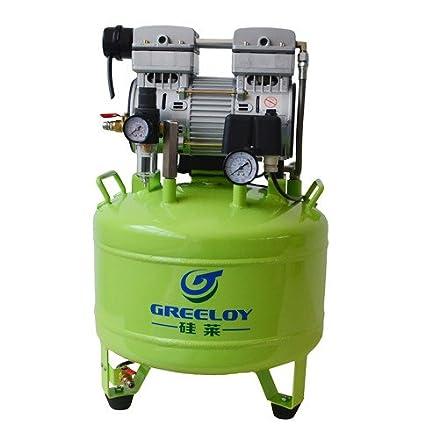 greeloy ga-81 Compresor sin aceite 40l para 2 estaciones de Levin Dental