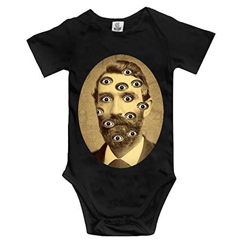 Insomnia Custom Funny Novelty Baby Cotton Bodysuits One-Piece