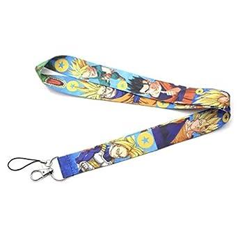Correa Cinta Cuerda Llaveros Cuello de Goku, Vegeta, Gohan ...