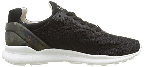 Le Coq Sportif Lcs R Xvi Winter Floral, Zapatillas para Mujer Negro (Black/Gray MornBlack/Gray Morn)