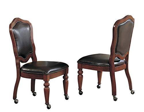Sunset Trading Bellagio Caster Chair, Set of 2 (And Chairs Poker Table)