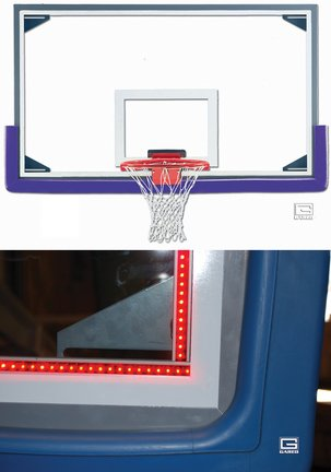 Led Basketball Goal Lights in Florida - 5