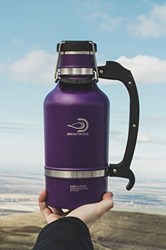 DrinkTanks 64 oz Vacuum Insulated Growler