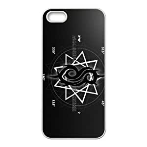 Slipknot iPhone 5 5s Cell Phone Case White xlb-128177