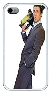 iPhone 4S Case and Cover VUTTOO American Psycho1 TPU Silicone Rubber Case Cover for iPhone 4S ¡§C White