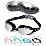 Swimming Goggles - Swim in Comfort with i-Swim Pro Originals giving you Anti Fog Crystal Clear Vision and a Watertight Comfortable Fit - Mirrored with UV Protection - Designed for Adults and Kids 10+
