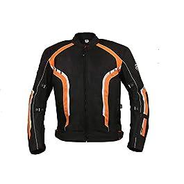 BIKING BROTHERHOOD Xplorer Orange Jacket