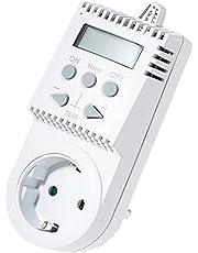 Elektrobock TS05 Stekkerthermostaat, Infraroodverwarming, Small, Wit