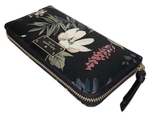 (Kate Spade New York Neda Zip Around Wallet (Wilson Road Botanical WLRU5302))