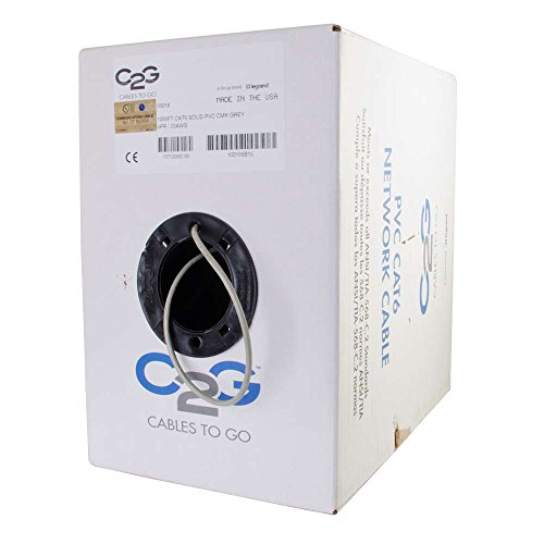 Cables to Go Cables To Go 56018 Cat6 Bulk Unshielded (UTP...