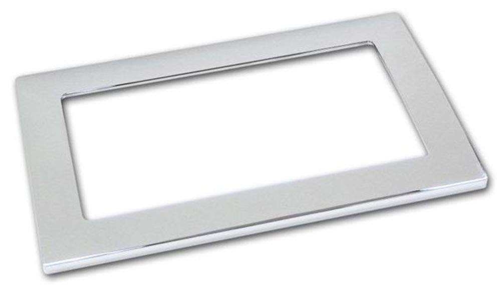 Pirate Mfg MU0012SC 2005-09 Ford Mustang Chrome Billet Shifter Bezel Cover, Auto