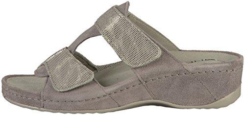 Rohde Ladies Amalfi Mules Gray (grigio)
