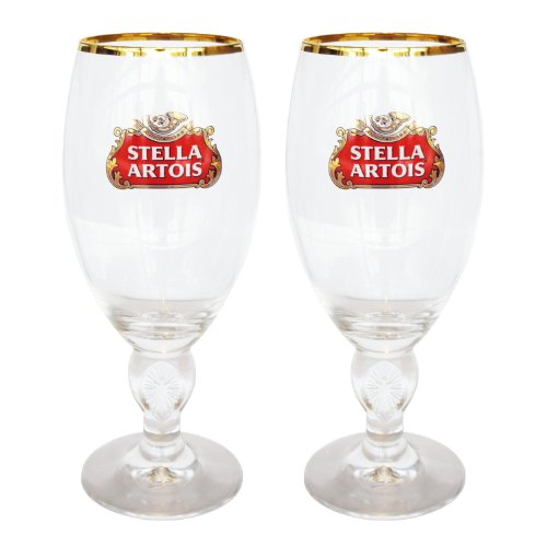 Set Stella Artois Glasses New
