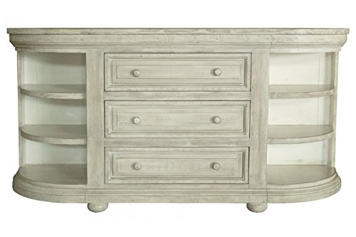 Credenza Console : Amazon.com: greenview rustic solid wood 3 drawers and 6 shelves