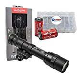 SureFire M600U Z68 1000 Lumen Ultra Scout Light Bundle with 2 Extra CR123A Batteries and a Lightjunction Battery Box