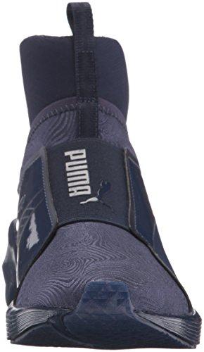 Puma Women's Fierce Bright Cross-Trainer Shoe, Yellow, B(M) US Peacoat/Peacoat