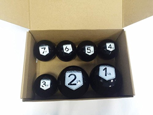 212 Athlete Velocity Care Balls : PVC Weighed Plyo Balls for Baseball/Softball Overhand Throwing Strength by 212 Athlete