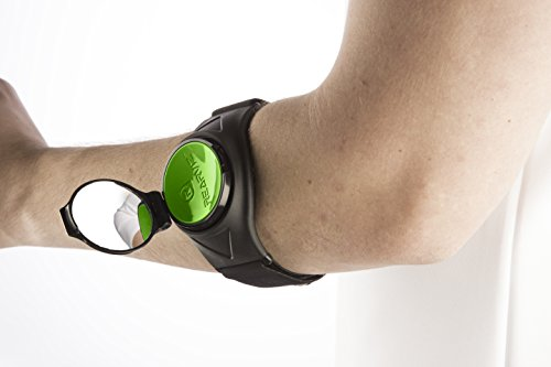 REARVIZ Bicycle ST-35 Rear View Mirror Unit, Fully Adjustable - [Green] by RearViz (Image #1)