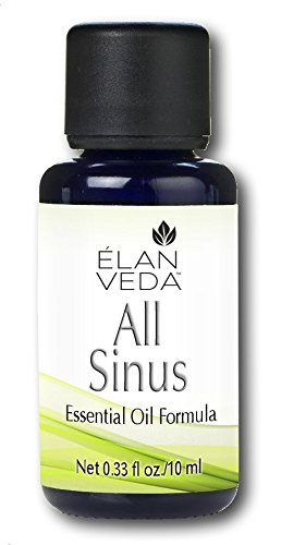 ElanVeda All Sinus Homeopathic Remedies, 0.34 Fluid Ounce