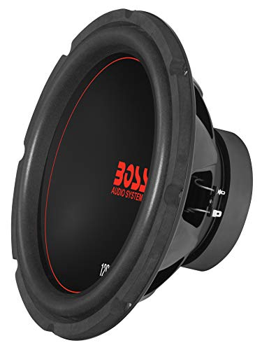 BOSS Audio CXX124DVC 12 Inch Car Subwoofer - 1200 Watts Maximum Power, Dual 4 Ohm Voice Coil, Sold Individually
