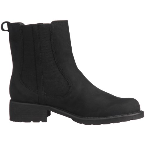 Clarks Orinoco Club - Botas Chelsea, color: Marrón Negro (Black Leather)