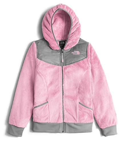 The North Face Kids Girl's OSO Hoodie (Little Kids/Big Kids) Coy Pink (Prior Season) X-Large (North Face Oso Plush Fleece Hooded Jacket)