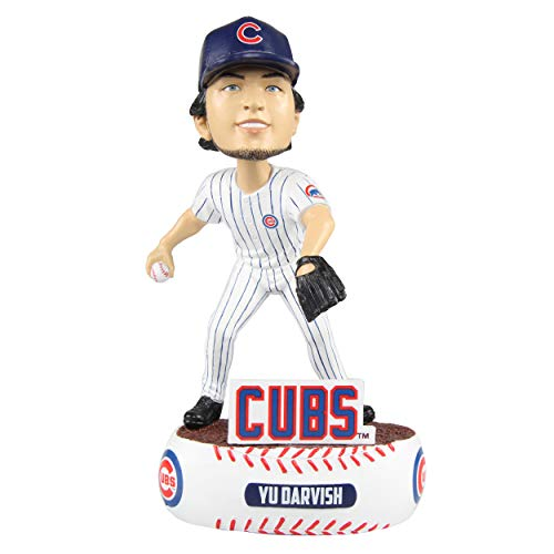 Yu Darvish #21 (Chicago Cubs) 2018 MLB Baller Series Bobblehead by Foco