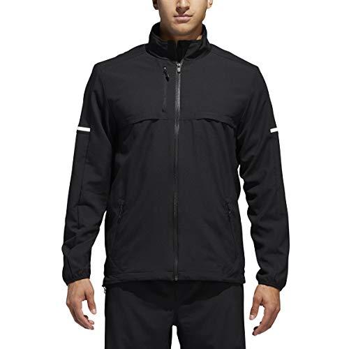 adidas Originals Men's Superstar Track Jacket (Medium, Black / Black White logo)