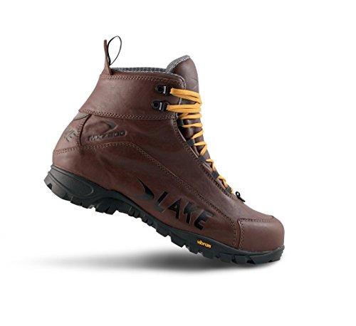 Lake MXZ200 Cycling Shoe - Men's Brown, 48.0