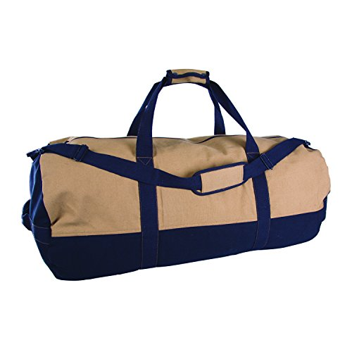 Stansport Two Tone Canvas Duffle Zipper product image