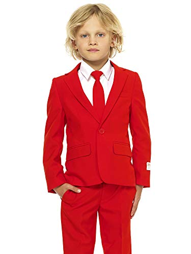 OppoSuits Crazy Suits for Boys in Different Prints - Comes with Jacket, Pants and Tie in Funny Designs]()