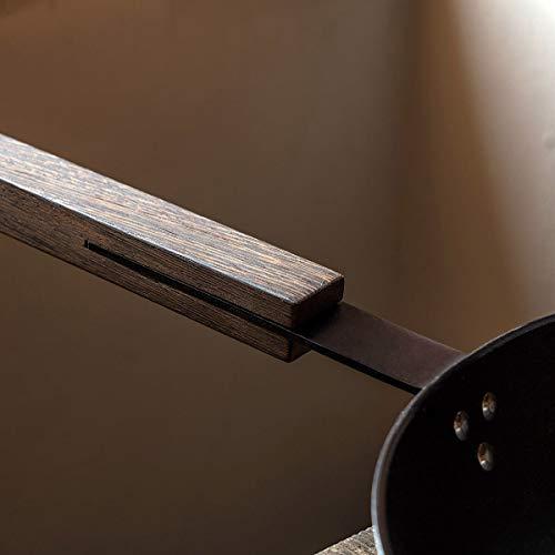 KnIndustrie Black Casserole diam. 6 19/64 inches Black