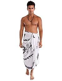 1 World Sarongs Mens Tattoo Sarong