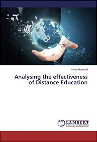 Book Analysing the effectiveness of Distance Education