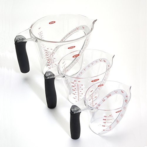 Image of OXO Good Grips 3-Piece Angled Measuring Cup Set