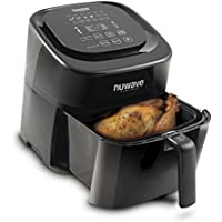 NuWave 6 Quart Brio Digital Air Fryer (Black)