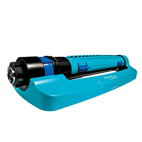 Sun Joe SJI-TLS18 3-Way Oscillation Turbo Oscillation Lawn Sprinkler w/Range,...