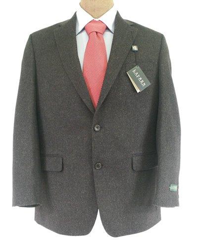 - LAUREN RALPH LAUREN Men's Blazer Size 42R Gray