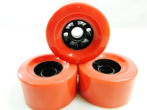 - 83mm Pro Longboard Cruiser Wheels Flywheels (Red)