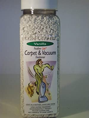 FeatherLite Vanilla Concentrated Carpet and Vacuum Cleaner Fragrance Granules