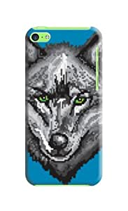 Premium Design Your Phone Protection Cover/shell/case for Iphone 5c with Landscape
