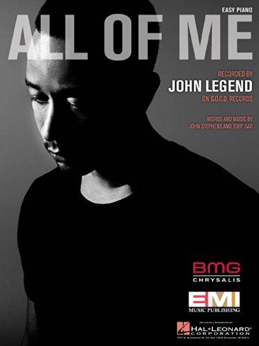 John Legend - All of Me - Easy Piano Sheet (John Legend Piano Sheet)
