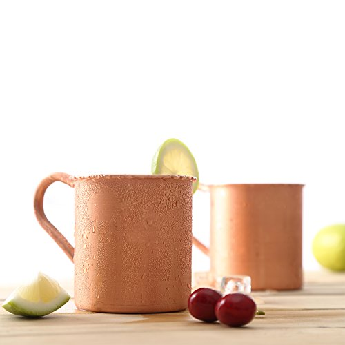 Magisor 100% Pure Copper Moscow Mule Mug (Set Of 2)(14.5 OZ) by Magisor (Image #2)