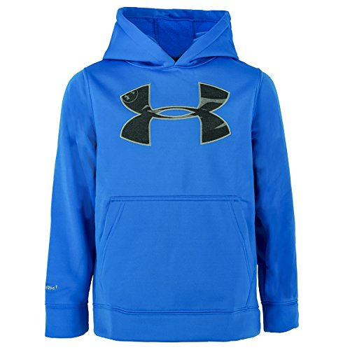 Under Armour Youth Rival Hoodie Blue Jet / Steel Large