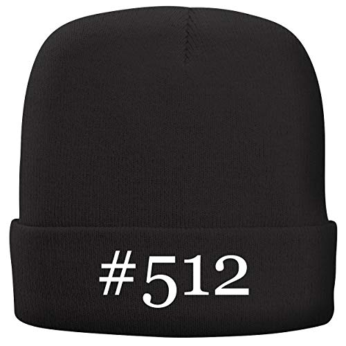 BH Cool Designs #512 - Adult Hashtag Comfortable Fleece Lined Beanie, Black